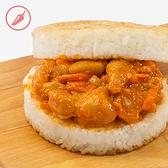 【KKLife】椒麻雞丁米漢堡 (170g/顆; 3顆/袋)