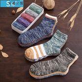 純棉中筒襪長襪潮春夏季薄款