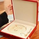 新款 高檔 普洱茶餅 包裝禮品盒 357克200克白牡丹茶餅實木油漆盒