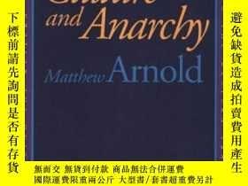 二手書博民逛書店Culture罕見And Anarchy (rethinking The Western Tradition)