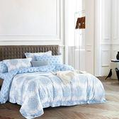 寶麗蘭 天絲TENCEL 採用3M吸溼排汗專利-加大鋪棉兩用被床包組