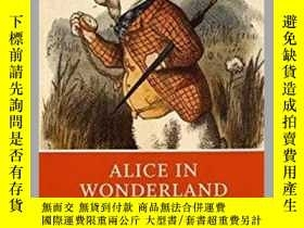 二手書博民逛書店Alice罕見in Wonderland (Norton Cri