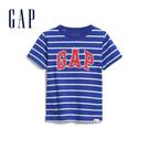 Gap 男幼童 Logo圓領短袖T恤 577650-寶藍色