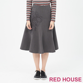 【RED HOUSE 蕾赫斯】蕾絲魚尾裙(共2色)