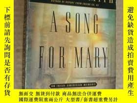 二手書博民逛書店A罕見Song for Mary: An Irish-Ameri