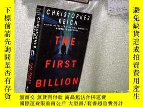 二手書博民逛書店The罕見First Billion 第一億 16開Y26111