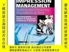 二手書博民逛書店Impression罕見ManagementY23583 Rosenfeld, Paul  Giacalone