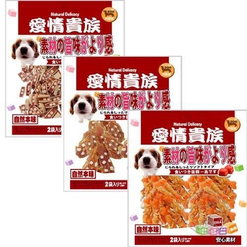 【培菓幸福寵物專營店】【愛情貴族】(犬用)美味雞肉潔牙骨雙包裝