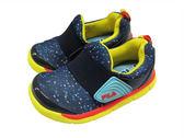 『雙惠鞋櫃』★ FILA ★小中童 懶人鞋 柔軟 記憶鞋墊 網布透氣 童休閒鞋 ★ (7-C858Q-392) 藍