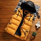 馬甲男士秋冬季韓版潮流免運新款加厚保暖羽絨棉馬夾背心坎肩外套