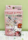 【震撼精品百貨】Hello Kitty 凱蒂貓~Sanrio HELLO KITTY可愛圖案OK蹦(盒裝)-和風紅#25818