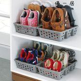2個鞋子收納女鞋童鞋立式鞋架鞋柜Y-2854