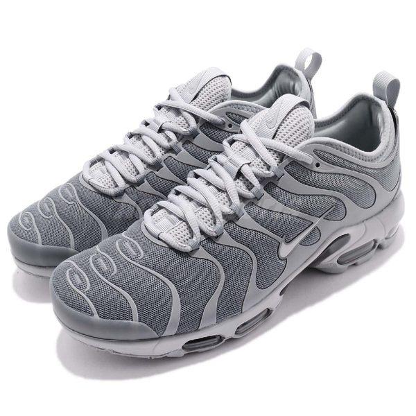 Nike 復古慢跑鞋 Air Max Plus Tn Ultra 灰 銀 反光 熱帶魚 氣墊 男鞋 【PUMP306】 898015-007