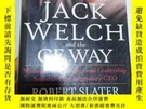 二手書博民逛書店JACK罕見WELCH and the GE WAY (書內有字跡劃線)Y269417 Robert Slat