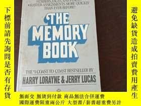 二手書博民逛書店The罕見Memory Book: The Classic Guide to Improving Your Mem