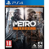 PS4 戰慄深隧二合一終極版 完整加強版 (含所有DLC) -英文版- Metro 2033 Redux Last Light