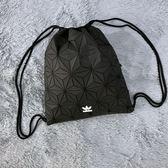 Adidas Originals 黑色立體束口袋3D 三宅一生