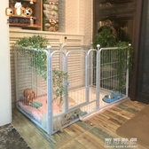 狗狗圍欄柵欄室內大型犬金毛寵物圍欄中型犬泰迪小型犬狗籠子 叮噹百貨