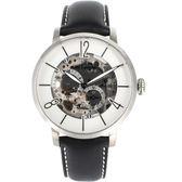 姬龍雪Guy Laroche Timepieces現代演繹鏤空機械錶  GW2009C-10