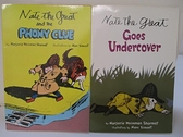 【書寶二手書T4/原文小說_GF9】Nate the Great Goes Undercover_Nate the Great…2本合售