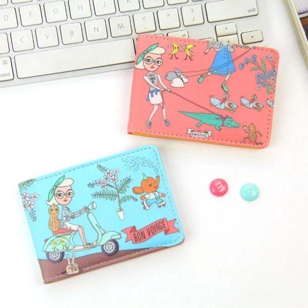 名片夾-搞怪卡片夾/證件套/悠遊卡夾-共6色-B270006-FuFu