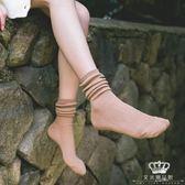 (5雙)韓國堆堆襪正韓襪子女中筒襪學院風日系雙針長筒棉襪 雙12