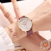 流行女錶新品大錶盤時尚潮流氣質防水學生皮帶款防水女士手錶 JY【限時八折】