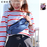 出清 帆布 單肩包 斜背包免運費 日本品牌【coen】