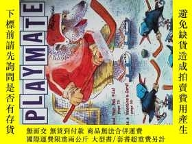 二手書博民逛書店Children s罕見playmate magazine 01-02 2008 兒童遊戲玩伴英文雜誌Y146