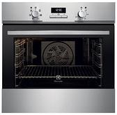 Electrolux 瑞典 伊萊克斯 EOB3400AAX 嵌入式電烤箱 (220V)【得意家電】產地:義大利