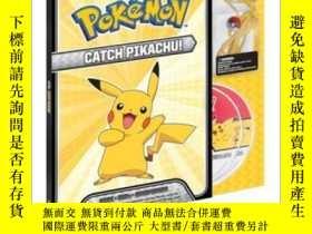 二手書博民逛書店Catch罕見Pikachu! DELUXE Look & Listen SetY410016 Pikachu