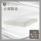 【多瓦娜】ADB-克雷格舒柔絲棉三線獨立筒床墊/雙人加大6尺-150-38-C