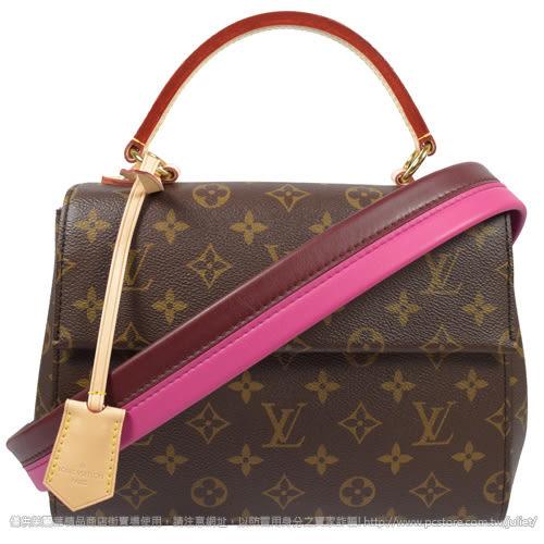 Louis Vuitton LV M42738 Cluny BB 經典花紋兩用仕女包 全新 現貨