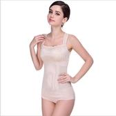 塑身衣夏季超薄收復抹胸背心產后收腹束腰美體內衣女士分體束身上衣部落