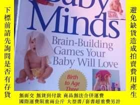 二手書博民逛書店Baby罕見Minds: Brain-Building Game