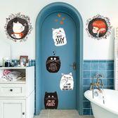 壁紙墻貼寢室裝飾小飾品客廳臥室墻紙自粘北歐簡約【極簡生活館】