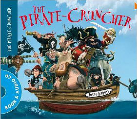 【麥克書店】THE PIRATE CRUNCHER /英文繪本+CD《主題:幽默.海盜》