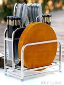 多功能不銹鋼刀架砧板架一體廚房置物架用品菜刀收納架筷子筒刀座「潔思米」