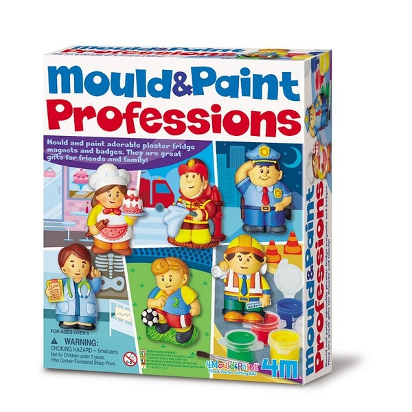 【4M】03545 美勞創意-活力小專家(製作磁鐵) Mould & Paint