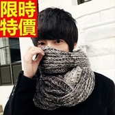圍巾-羊毛拼色與眾不同漸層秋冬加厚保暖圍脖64t30【巴黎精品】