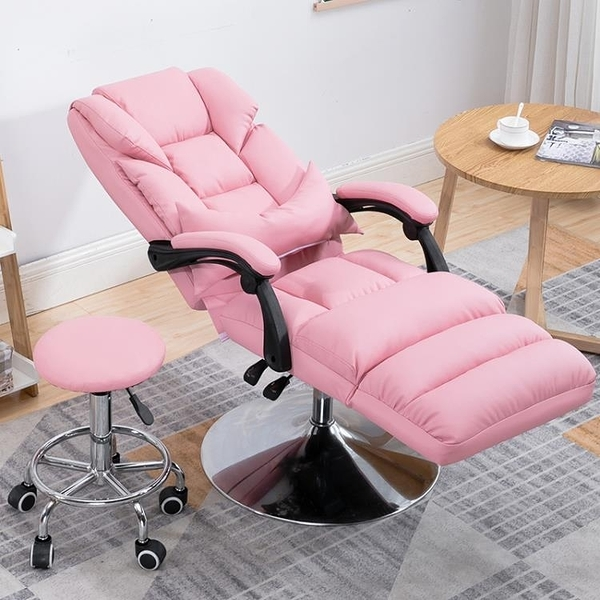美容椅 懶人沙發陽台單人可平躺美容椅折疊紋繡體驗椅升降電腦午休椅午睡