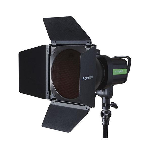 ◎相機專家◎ Phottix 擋光板 蜂巢 濾光片套裝 四葉片 Barndoors 適用於7吋 反光罩 公司貨 82328