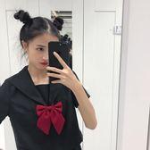 【新年鉅惠】日系jk制服黑無本班服校服水手服百褶裙套裝