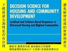 二手書博民逛書店Decision罕見Science for Housing and Community Development:
