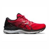 Asics Gel-nimbus 23 [1011B004-600] 男鞋 運動 休閒 慢跑 緩衝 輕量 亞瑟士 紅 黑