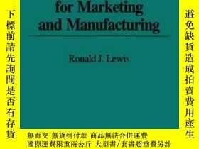 二手書博民逛書店Activity-based罕見Costing For Marketing And Manufacturing