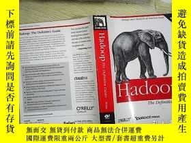 二手書博民逛書店Hadoop:罕見The Definitive Guide (2