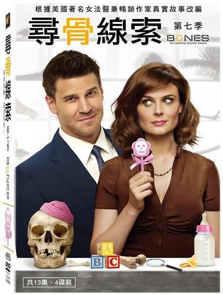 尋骨線索 第七季 DVD 歐美影集  (音樂影片購)