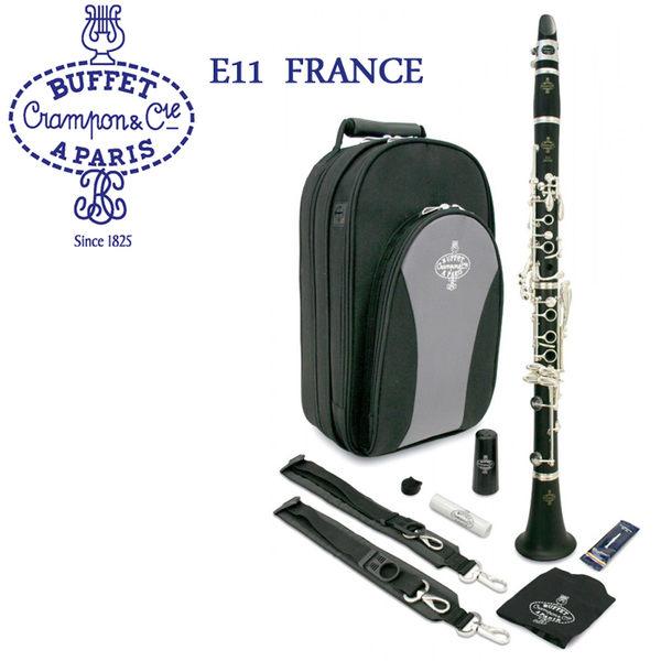 【非凡樂器】Buffet E11 Bb調 豎笛/黑管/單簧管 法國廠製,高品質非洲烏木/管樂系列/公司貨保固