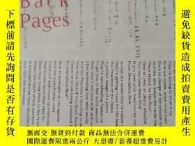 二手書博民逛書店昨日書罕見[My Back Pages](實物圖)Y172634